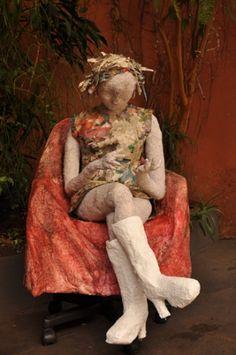 Exposição reúne esculturas de papel machê na Estação Cultura   Campinas.com.br
