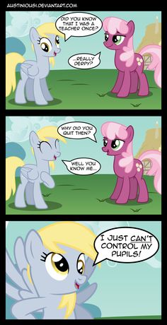 funny derpy comics mlp | 1359768817388 >>> That's so mean!