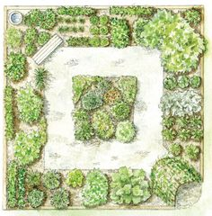 Step By Step Your Garden Grows: Five-Year Kitchen Garden Design Plan