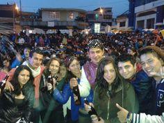 Carnaval de Guaranda :D #Plaza_roja