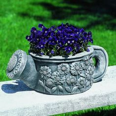 Collection of 10 unique containers for your miniature garden. They are unique, artistic and strikingly.