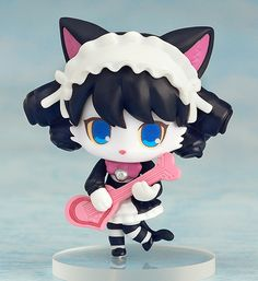 """Crunchyroll - Good Smile Company Jams with Nendoroid Cyan from """"Show by Rock!!"""""""