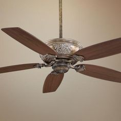 "54"" Minka Aire Classica French Beige Ceiling Fan 