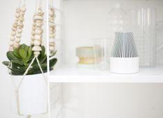DIY pot plant holder