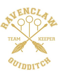 Ravenclaw - Team Keeper by quidditchleague Ravenclaw Quidditch, Slytherin And Hufflepuff, Harry Potter Props, Harry Potter World, Scorpius And Rose, Potter School, Disney Bachelorette, Welcome To Hogwarts, Ron And Hermione