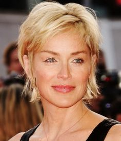 Short Hairstyles For Women Over 50...