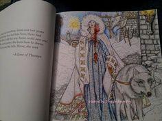 Αποτέλεσμα εικόνας για game of thrones coloring book red