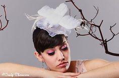 Bridal head doves - Boring Sidney, Etsy