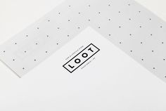 Logotype and headed paper designed by Savvy for Mexican surf and lifestyle store Loot
