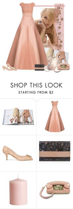 """""""Jason Wu Lace Top Duchesse Satin Gown"""" by bodangela ❤ liked on Polyvore featuring Jason Wu, Dolce&Gabbana, BUCO and H&M"""