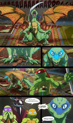 TMNT: Dragons Rising Pg 08 by JazzTheTiger