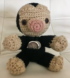 Niffler plush, Harry Potter toy, Harry Potter gift, Fantastic Beasts and Where to Find Them, Crochet Niffler, baby shower gift by SweetNanasCrochet on Etsy