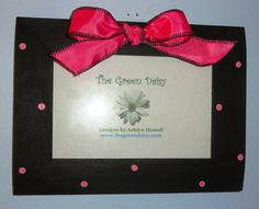 Decorative Photo Frame on Etsy, $12.00