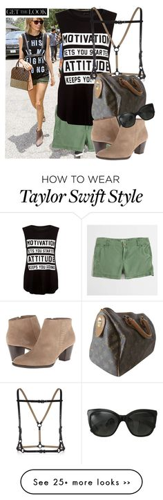 """REQUESTED: Taylor Swift GTL"" by dreams-of-vogue on Polyvore featuring J.Crew, BCBGMAXAZRIA, Louis Vuitton and Chanel"