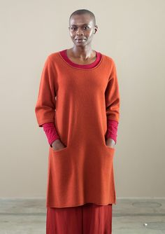 Favourite tunic in wool – Knits – GUDRUN SJÖDÉN – Webshop, mail order and boutiques | Colourful clothes and home textiles in natural materials.