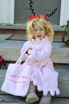 Cindy Lou Who Costume - Halloween Costume Contest via @costumeworks