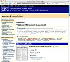 CDC Vaccine & Immunization Information Statements - Must Give Patients Forms for the Following if Receiving: diphtheria, tetanus, pertussis, measles, mumps, rubella, polio, hepatitis A, hepatitis B, Haemophilus influenzae type b (Hib), trivalent influenza, pneumococcal conjugate, meningococcal, rotavirus, human papillomavirus (HPV), or varicella (chickenpox). Different Languages!