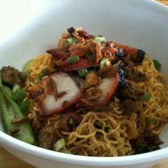 Malaysian dried noodles