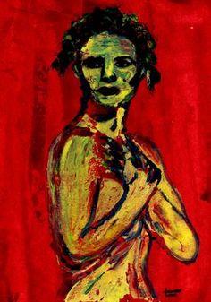 "Saatchi Art Artist CARMEN LUNA; Painting, ""50-Expressions of Carmen Luna."" #art http://www.saatchiart.com/art-collection/Painting-Mixed-Media/Expressions-of-Carmen-Luna/71968/25377/view"