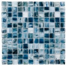 Glass Mosaic Tile Artwork Teal 1x1 results from a combination of art and functionality. When design (Art) meets glass (read functionality or practicality), you a design element that is both appealing