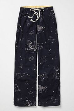 Love me some constellation-wear, apparently. Celestial Yonder Loungers (by Lilka, at Anthropologie)