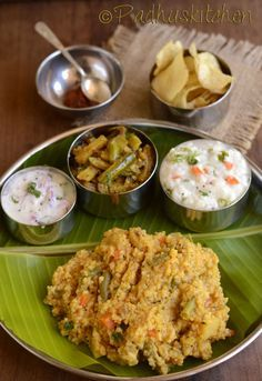 Sambar Sadam ,Tindora Sabji (Kovakkai curry),Curd Rice ,Onion Pachadi,Homemade Potato Chips ,Tomato Thokku