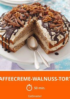 Kaffeecreme-Walnuss-Torte - smarter - Zeit: 50 Min.   eatsmarter.de