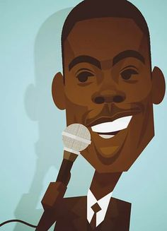 Chris Rock Illustration: by Stanley Chow