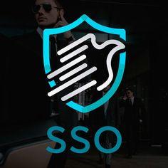 Diseño de Logo para empresa de seguridad SSO. Peace, Design Logos, Design Web, Safety, Clothing, Sobriety, World