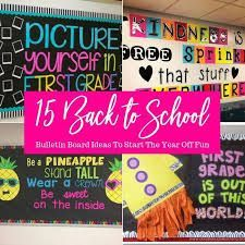 Back to School Bulletin Board Ideas - Passion for Savings Boarders For Bulletin Boards, Back To School Bulletin Boards, Bulletin Board Display, Classroom Bulletin Boards, Classroom Decor, Classroom Organization, Beginning Of The School Year, New School Year, First Day Of School