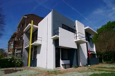 The Rietveld Schröder House  (also known as the Schröder House) in Utrecht was built in 1924 by Dutch architect Gerrit Rietveld for Mrs. Truus Schröder-Schräder[.The house is one of the best known examples of De Stijl-architecture.