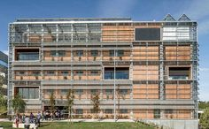 Responsive bioclimatic skin wraps around LEED Gold ICTA-ICP building in Barcelona | Inhabitat - Sustainable Design Innovation, Eco Architecture, Green Building