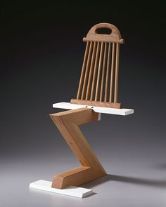 Rietveld Zig Zag Variation 15 - Thong Chair by Garry Knox Bennett - Chair Blog