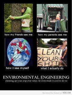 I'm an Environmental Engineer