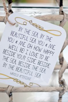 beside your side, beside the sea
