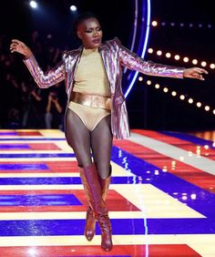 Grace Jones made a glorious return to the catwalk during the Tommy X Zendaya Paris Fashion Week show, as the collection pays reference to fashion mavens from the golden era of the Grace Jones, Zendaya, Sister Sledge, Winnie Harlow, Tommy Hilfiger, Weight Loss Video, Ben Stiller, The Zoe Report, Power Dressing