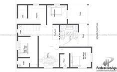 1097 SQ FT MODERN HOME DESIGNS – Kerala Home Design Duplex House Plans, Dream House Plans, Modern Bungalow House, Modern House Design, Modern Architectural Styles, Indian House Plans, Model House Plan, Kerala House Design, Kerala Houses