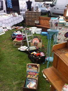 Our stall at an antiques fair