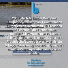 Fakten über Burger King 5
