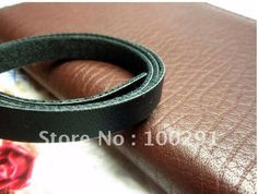 Free shipping!! 50METER/LOT 8 MM high-grade PU skin/leather string single face rope wholesale. US $56.70