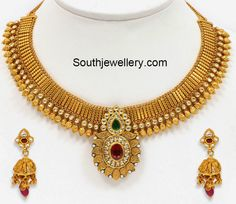 latest gold necklace models