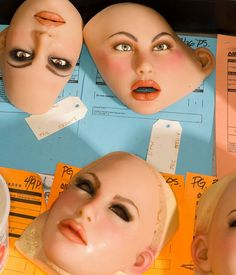 Nipple charts and rubber faces: Robert Benson captures a Californian sex doll factory Its Nice That, Take That, Silicone Masks, Female Mask, Rubber Doll, Real Doll, Grunge Hair, Pics Art, Thing 1