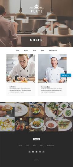 Delightful designed Bar, Cafe, Bistro and Restaurant theme for WordPress powered websites. Comes with WPML and Visual Composer support.
