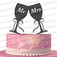 Toasting Wine Glasses Wedding Cake Topper,Drinking Cup Mr and Mrs Cake Topper (Multiple Color Optional). 【SHIPPING DETAILS】: To the United States needs to 15-20 working days. If you need the item so urgent and you can pay extra charges,we can help to arrange DHL.you will receive in about 5--8 business days. 【DHL fee payment link】: http://www.amazon.com/dp/B01CKMG5WC 【AFTER SALE】: If you have any questions for the shipping and product,please contact me asap.I will solve your problem for…