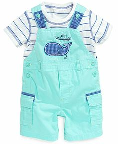 First Impressions Baby Boys' Striped Tee & Whale Cargo Shortall Set - Kids Baby Boy months) - Macy's Source by rhythmngrace boy outfits Baby Outfits, Newborn Outfits, Kids Outfits, Baby Boys, Toddler Boys, Kids Boys, Baby Gap, Set Fashion, Baby Boy Fashion