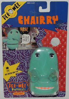 Pee Wees Playhouse 1st CHAIRRY Figure Vintage 1988 Matchbox Pee-Wee Herman MIP #Unbranded