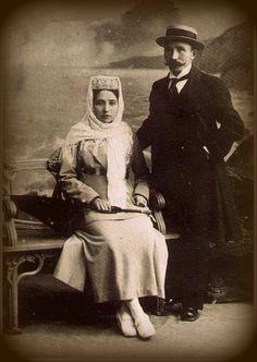 Tatars.Татарская купеческая семья