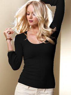 Scoopneck Sweater - Victoria's Secret