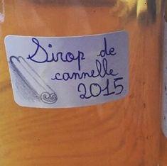 Parmi les nombreux sirop que nous réalisons, voici le pas à pas de la recette du sirop de cannelle maison : #Boisson #Cuisine #sirop #cannelle #siropmaison