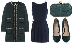 ANNAWII ♥ - NAVY AND DEEP GREEN